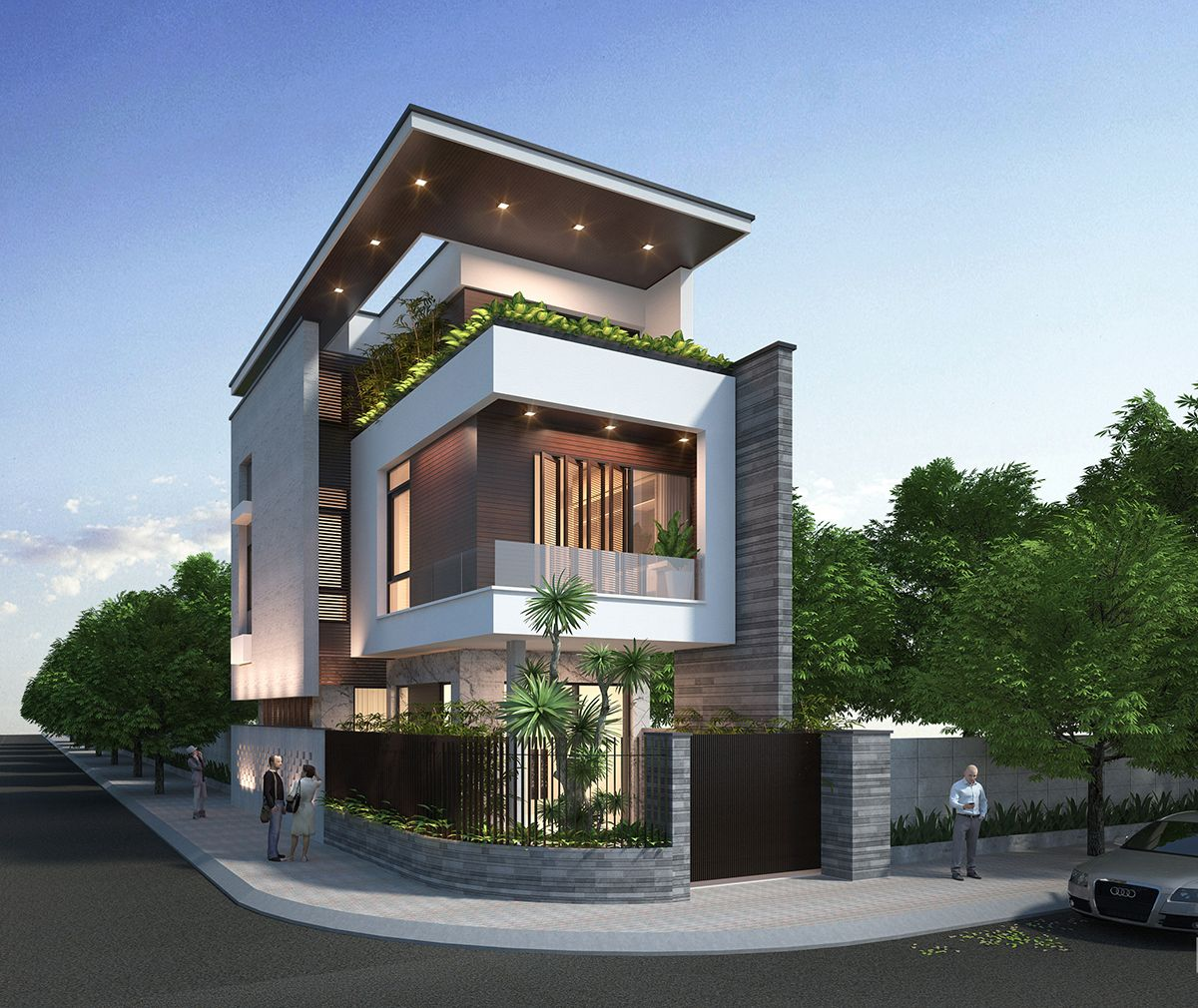 Thiết kế ngoại thất tại Hà Nội