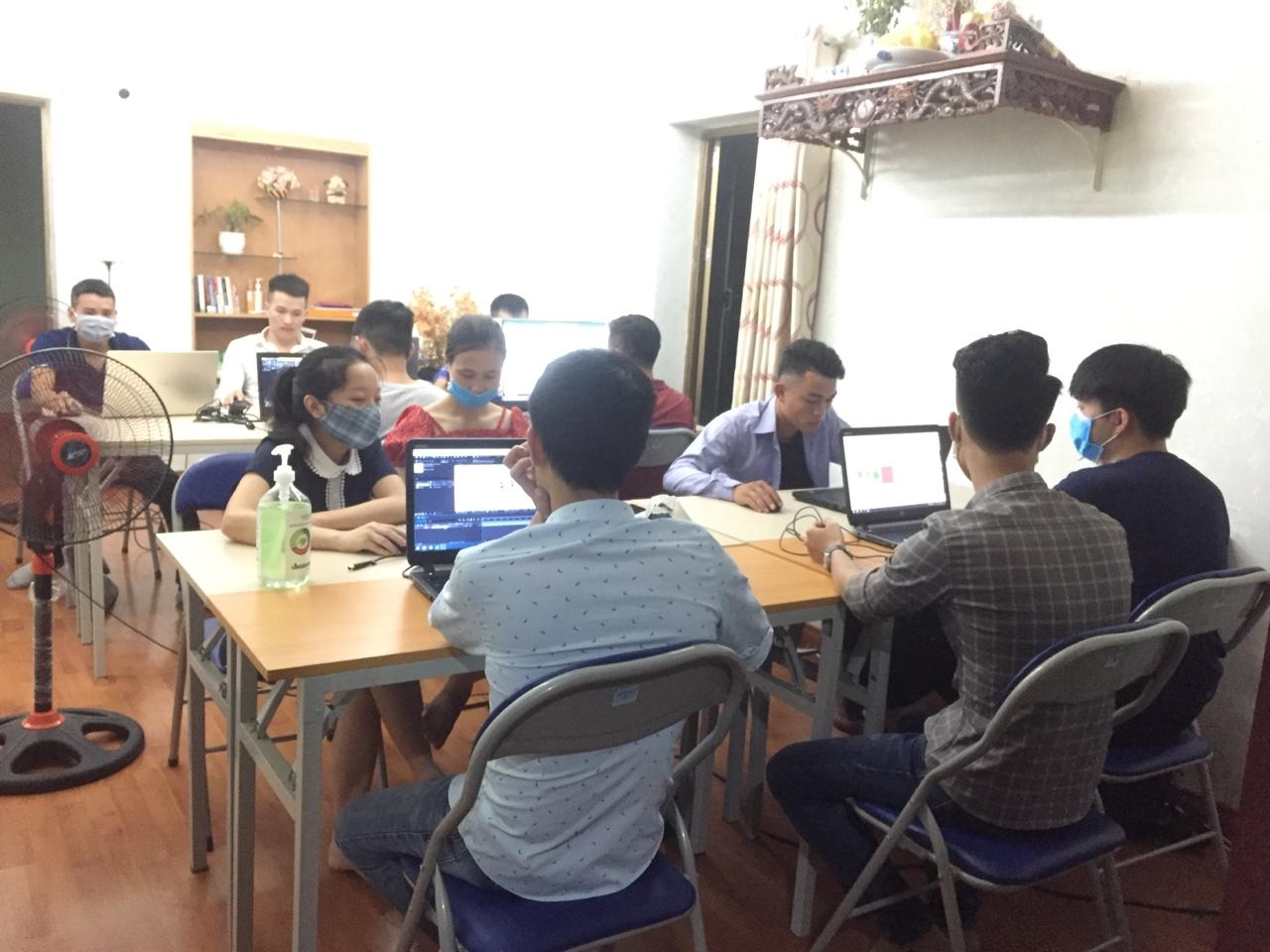 Lớp học corel ngắn hạn tại Đức Giang Long Biên